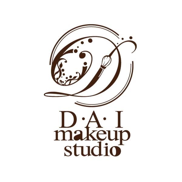 D・A・I makeup studio ロゴデザイン