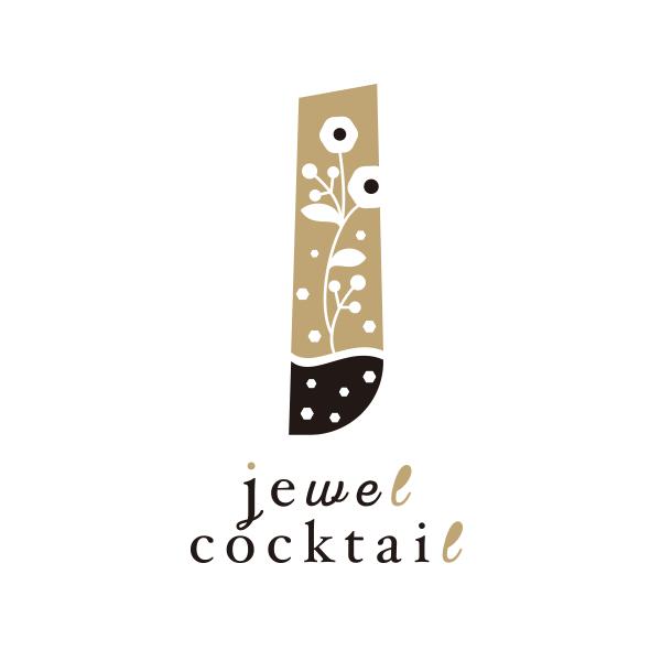 jewel cocktail ロゴデザイン